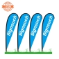4KITS Custom 3.5M Teardrop Flags